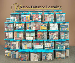 Weston Distance Learning sends gifts to the Troops!